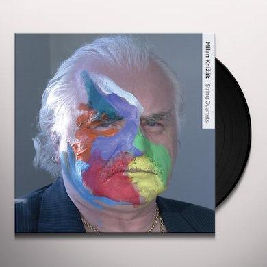 Milan Knizak STRING QUARTETS Vinyl Record