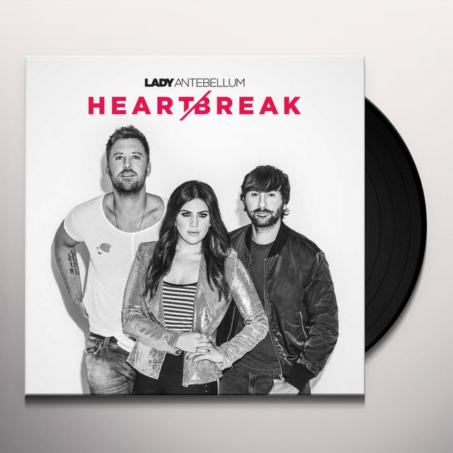 Lady A HEART BREAK Vinyl Record