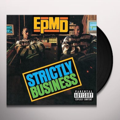 Epmd STRICTLY BUSINESS Vinyl Record