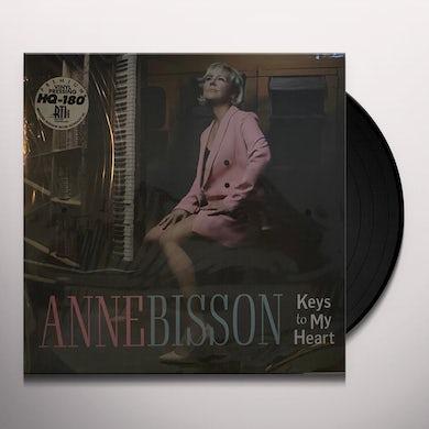 Anne Bisson KEYS TO MY HEART Vinyl Record