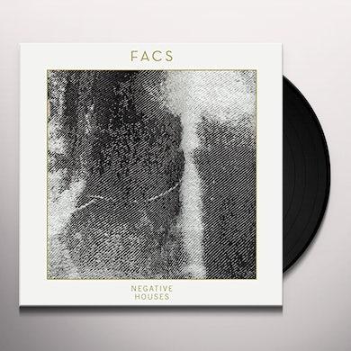 Facs NEGATIVE HOUSES Vinyl Record