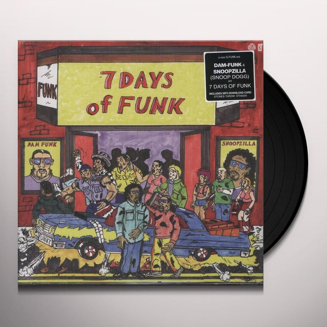 7 Days Of Funk Vinyl Record