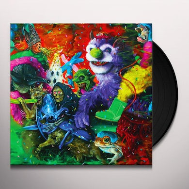 Tropical Fuck Storm LAUGHING DEATH IN MEATSPACE (SLIME GREEN VINYL) Vinyl Record