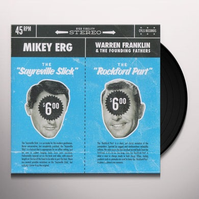 Mikey Erg / Warren Franklin / Founding Fathers MIKEY ERG / WARREN FRANKLIN & THE FOUNDING FATHERS Vinyl Record