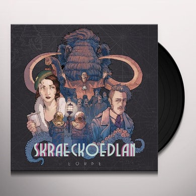 Skraeckoedlan EARTH Vinyl Record