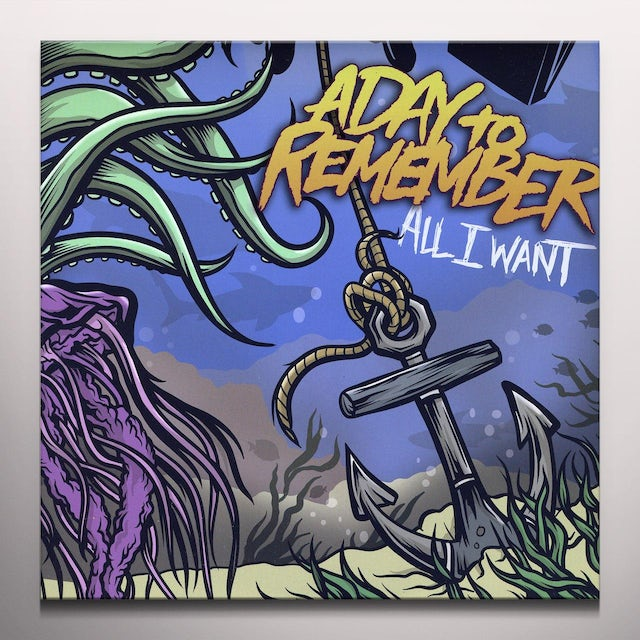 A Day To Remember ALL I WANT Vinyl Record