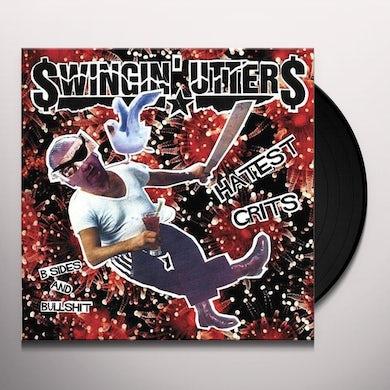 Swingin' Utters HATEST GRITS: B-SIDES & BULLSHIT Vinyl Record