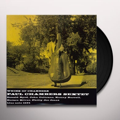 Paul Chambers WHIMS OF CHAMBERS Vinyl Record