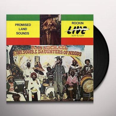 Ras Michael PROMISED LAND SOUNDS Vinyl Record