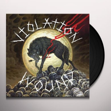 Violation Wound WITH MAN IN CHARGE Vinyl Record