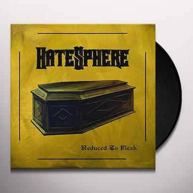 Hatesphere REDUCED TO FLESH Vinyl Record