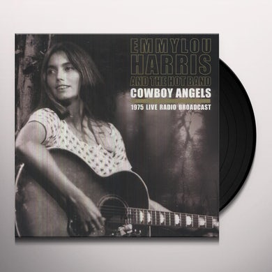 Emmylou Harris & The Hot Band COWBOY ANGELS Vinyl Record - UK Release
