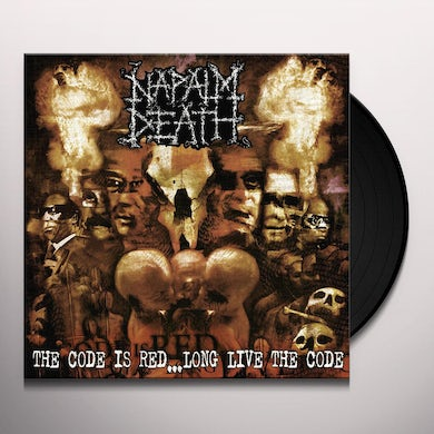 Napalm Death CODE IS RED: LONG LIVE THE CODE Vinyl Record
