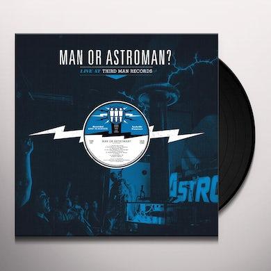 Man Or Astro-Man LIVE AT THIRD MAN RECORDS Vinyl Record