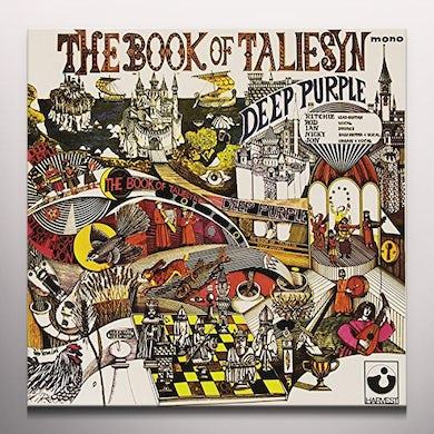 Deep Purple BOOK OF TALIESYN Vinyl Record