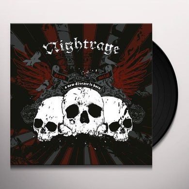 Nightrage NEW DISEASE IS BORN Vinyl Record
