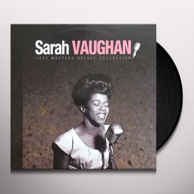 Sarah Vaughan JAZZ MASTERS DELUXE COLLECTION Vinyl Record