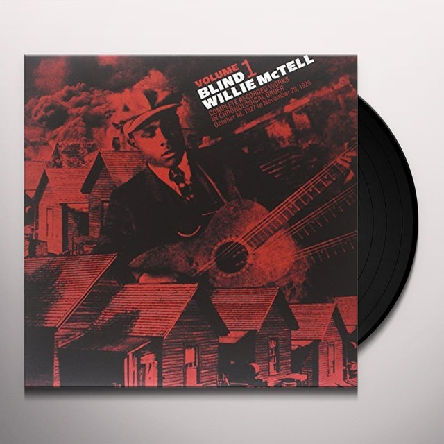 Willie Mctell COMPLETE RECORDED WORKS IN CHRONOLOGICAL ORDER 1 Vinyl Record