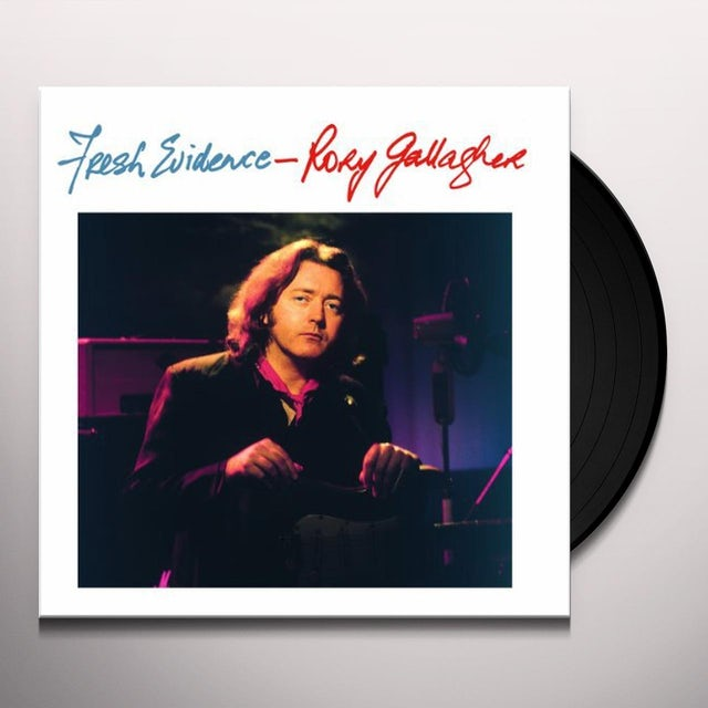 Rory Gallagher FRESH EVIDENCE Vinyl Record