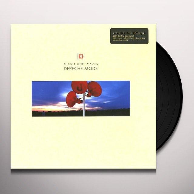 Depeche Mode MUSIC FOR THE MASSES Vinyl Record - Holland Release