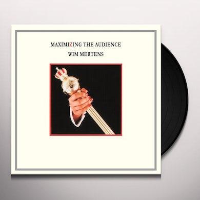 Wim Mertens MAXIMINZING THE AUDIENCE Vinyl Record