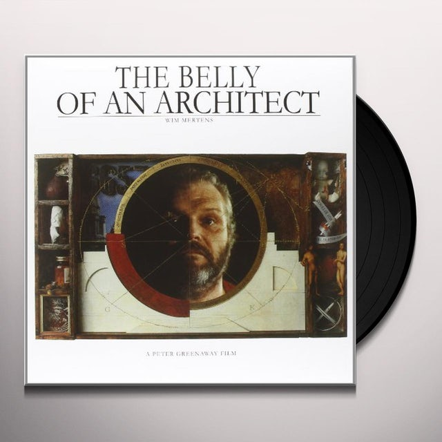 Wim Mertens THE BELLY OF AN ARCHITECT Vinyl Record