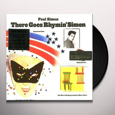 Paul Simon THERE GOES RHYMIN' SIMON Vinyl Record