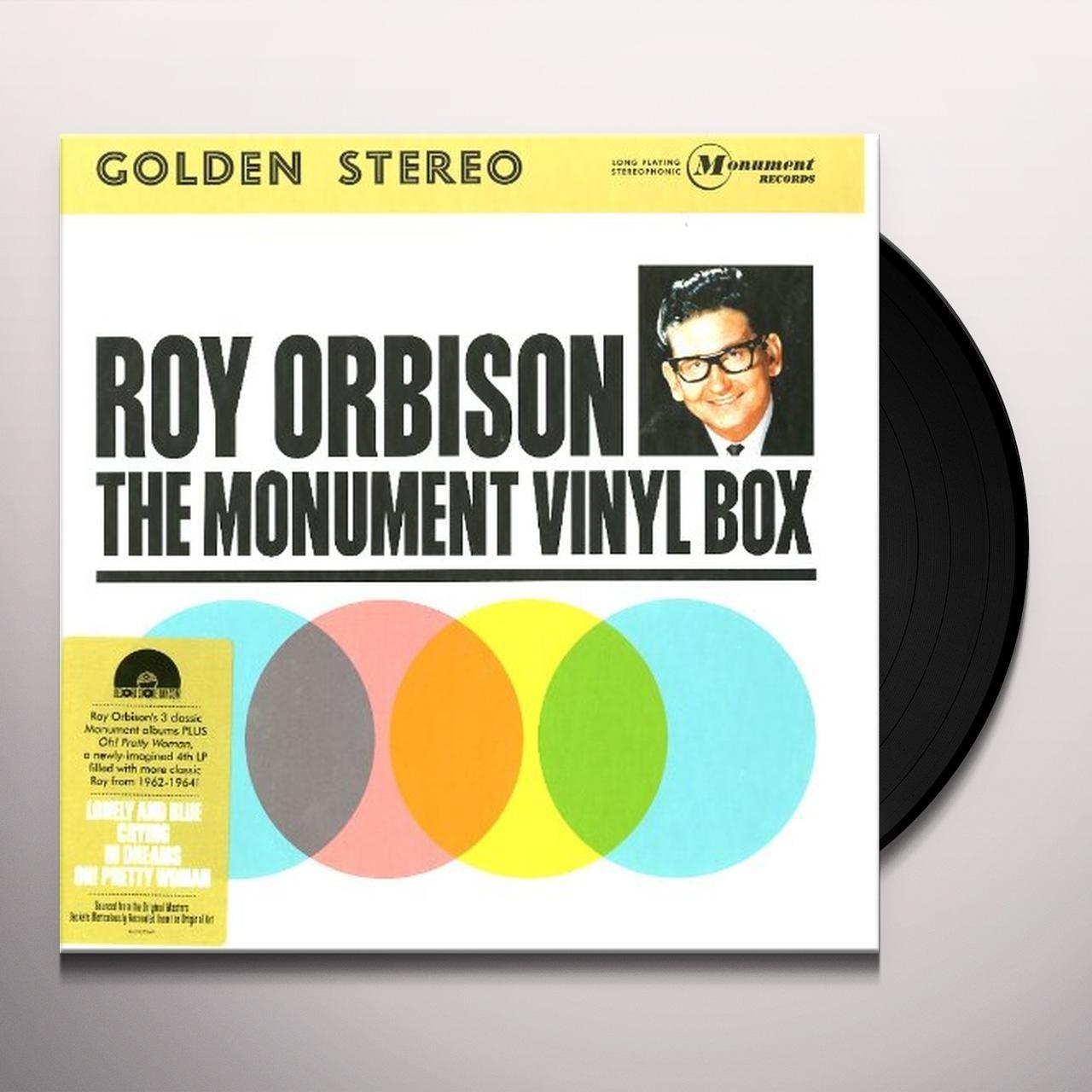 Roy Orbison MONUMENT VINYL BOX Vinyl Record