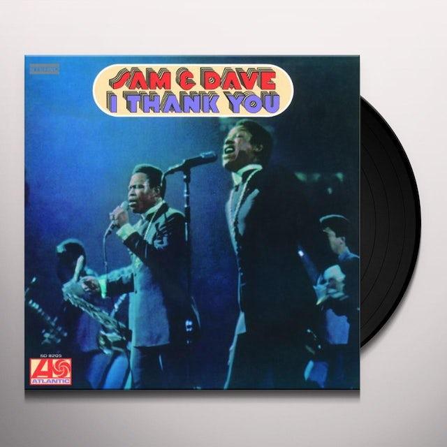 Sam & Dave I THANK YOU Vinyl Record