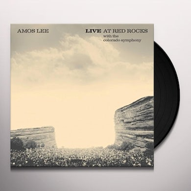 AMOS LEE LIVE AT RED ROCKS WITH THE COLORADO SYMPH Vinyl Record