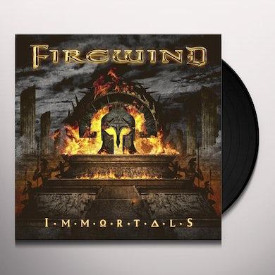Firewind IMMORTALS (BLUE VINYL) Vinyl Record