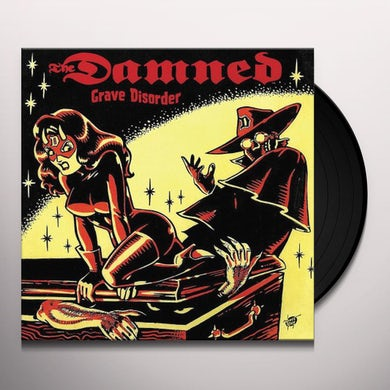 The Damned GRAVE DISORDER Vinyl Record