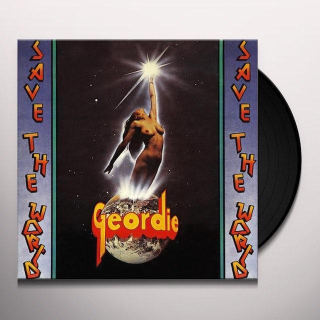 Geordie SAVE WORLD Vinyl Record - w/CD