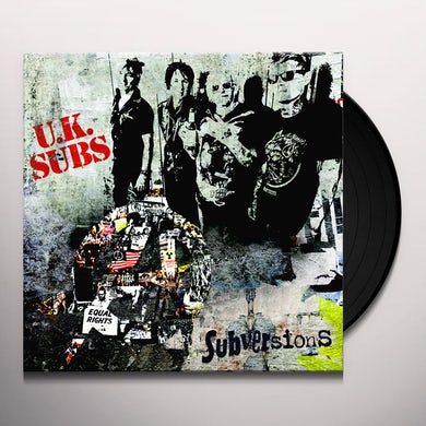 U.K. Subs SUBVERSIONS Vinyl Record