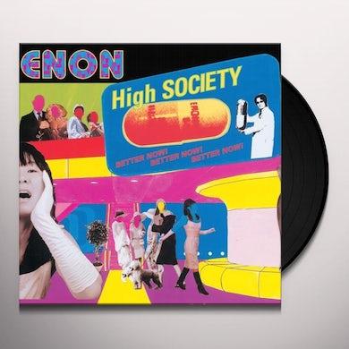 Enon HIGH SOCIETY Vinyl Record