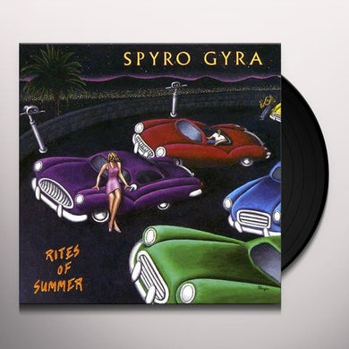 Spyro Gyra RITES OF SUMMER Vinyl Record
