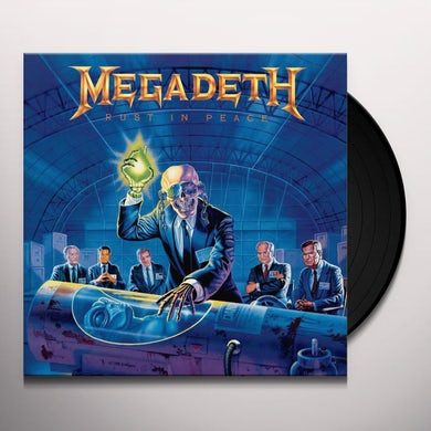 Megadeth RUST IN PEACE Vinyl Record