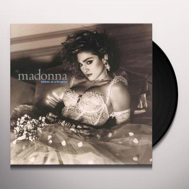 Madonna LIKE A VIRGIN Vinyl Record - 180 Gram Pressing