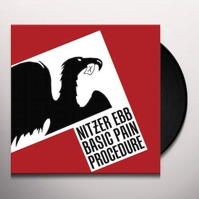 Nitzer Ebb BASIC PAIN PROCEDURE Vinyl Record