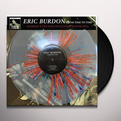 Eric Burdon / The Animals FROM TIME TO TIME Vinyl Record