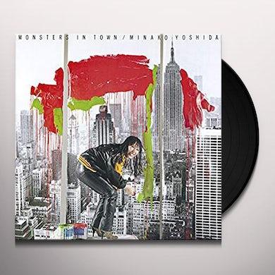 Minako Yoshido MONSTERS IN TOWN Vinyl Record