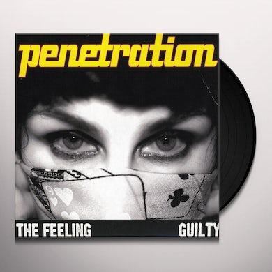 Penetration FEELING / GUILTY Vinyl Record