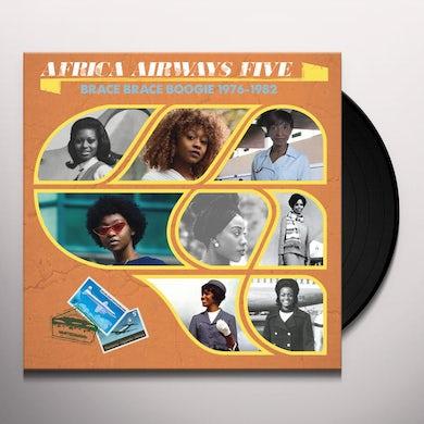 AFRICA AIRWAYS FIVE (Brace Brace Boogie 1976-1982) Vinyl Record