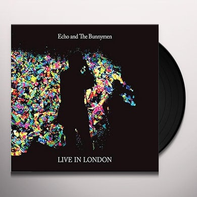 Echo & the Bunnymen LIVE IN LONDON Vinyl Record