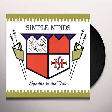 Simple Minds SPARKLE IN THE RAIN Vinyl Record