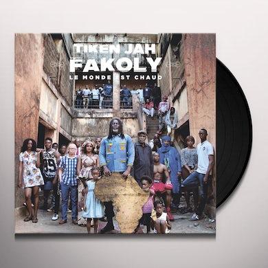 Tiken Jah Fakoly LE MONDE EST CHAUD Vinyl Record