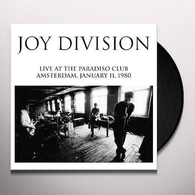 Joy Division LIVE AT THE PARADISO CLUB Vinyl Record
