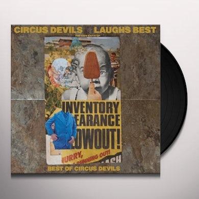 Circus Devils LAUGHS BEST Vinyl Record