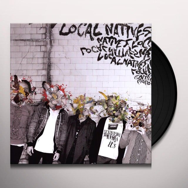 Local Natives GORILLA MANOR Vinyl Record