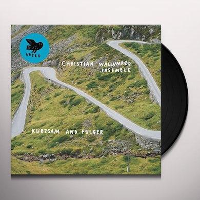 Christian Ensemble Wallumrod KURZSAM & FULGER Vinyl Record